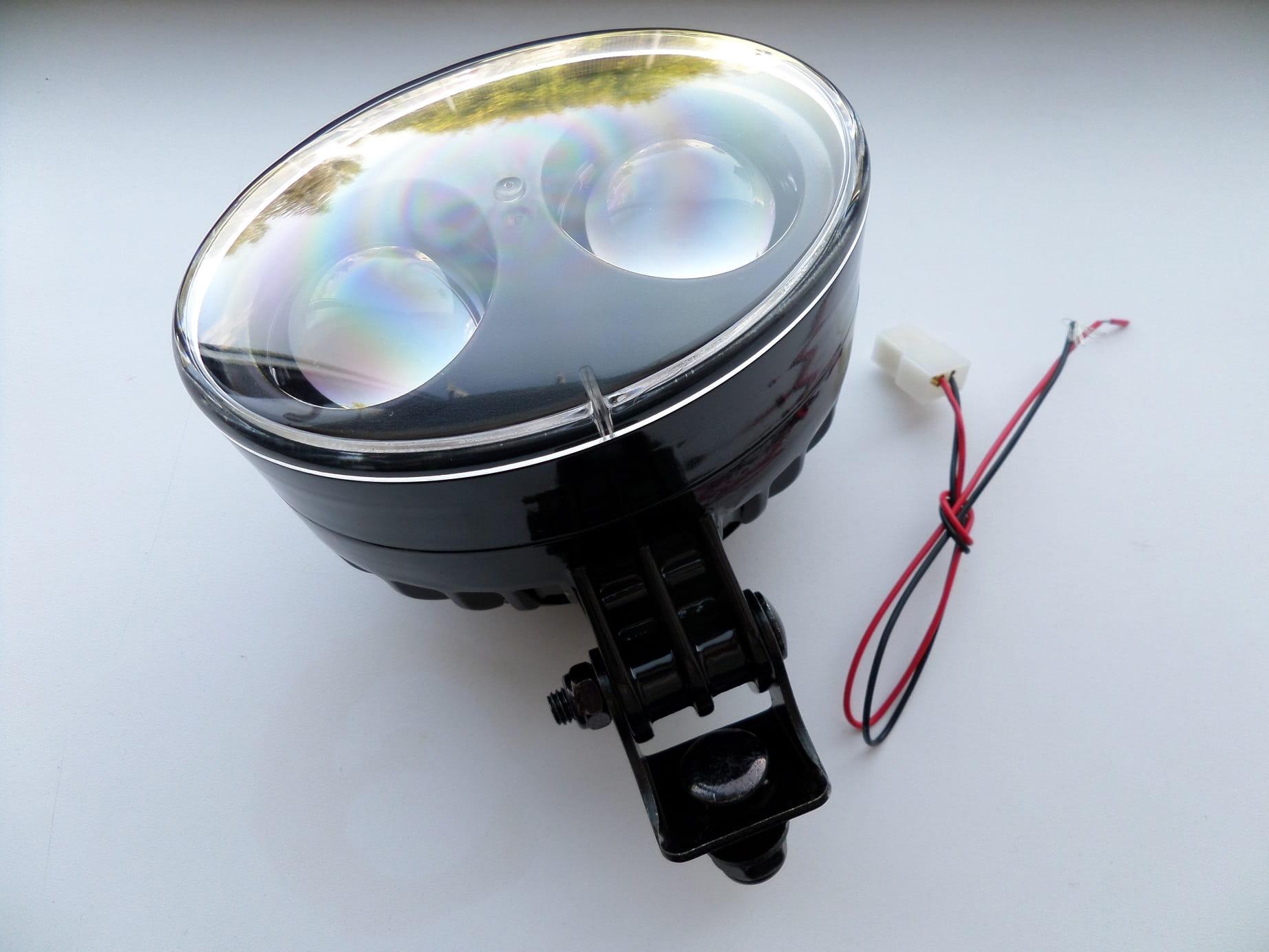 LAMPA OSTRZEGAWCZA BEZPIECZEŃSTWA BLUE SPOT LED купить с доставкой